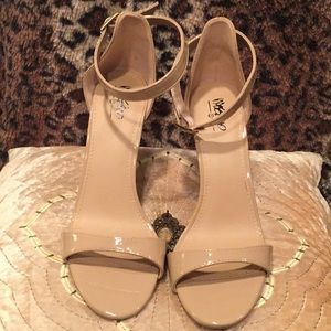 Mossimo, tan high heels, New, 7.5